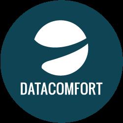 Logo tilhørende virksomheden DataComfort