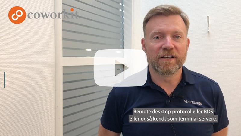 Start frame til videoen Hvad er Remote Desktop Protocol