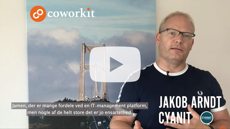 Video start frame til videoen Hvad er en IT management platform